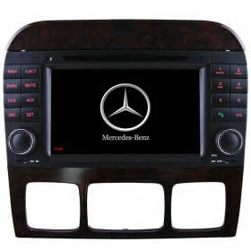 Mercedes Benz S W220 DVD Player GPS navigation system W220 S500 S320 S350 DVD GPS head unit