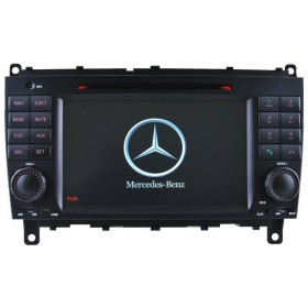 Mercedes Benz CLK W209 CLS W219 Car DVD Player GPS navigation Touch screen Head unit