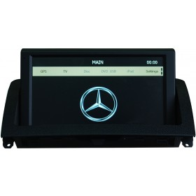 "Mercedes Benz W204 Navigation DVD GPS Head unit 8"" Touch Screen C 200 180 250 300 350"