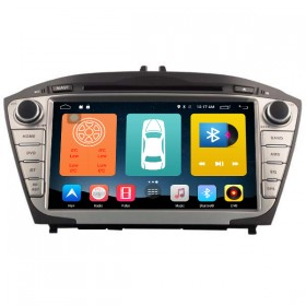 Android 6.0 Hyundai IX35 Tucson Navigation DVD Radio GPS HD Touch Screen Head Unit 2GB RAM 1024*600