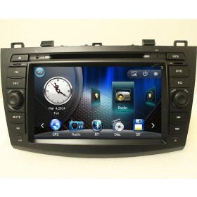 Mazda 3 DVD Player 2010, 2011 2012 2013 Mazda 3 GPS Navigation head unit