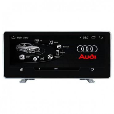 2018 Audi Q5 Android Head Unit Screen Upgrade Aftermarket Navigation