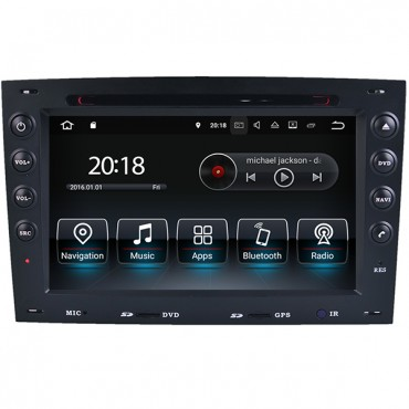 Android Renault Megane Radio DVD GPS Navigation Head Unit WiFi Mirror-Link