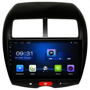 "Mitsubishi RVR ASX Outlander Sport Android GPS Navigation Radio Bluetooth USB WiFi 10.1"" HD Touch Screen"