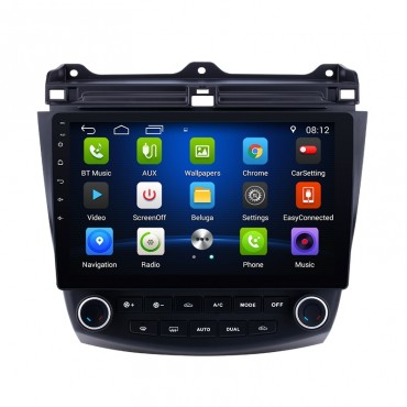 "2003-2007 Honda Accord Android Head Unit Aftermarket Radio Stereo Upgrade 10.1"" HD Touch Screen"
