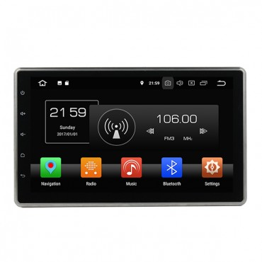 "Universal Android Double Din Car Stereo Head Unit 10.1"" Big Screen"