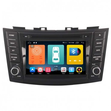 Android 6.0 System Car DVD Player GPS Navigation For 2012-2016 Suzuki Swift 2GB RAM