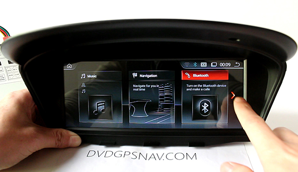 android bmw e60 id6 interface