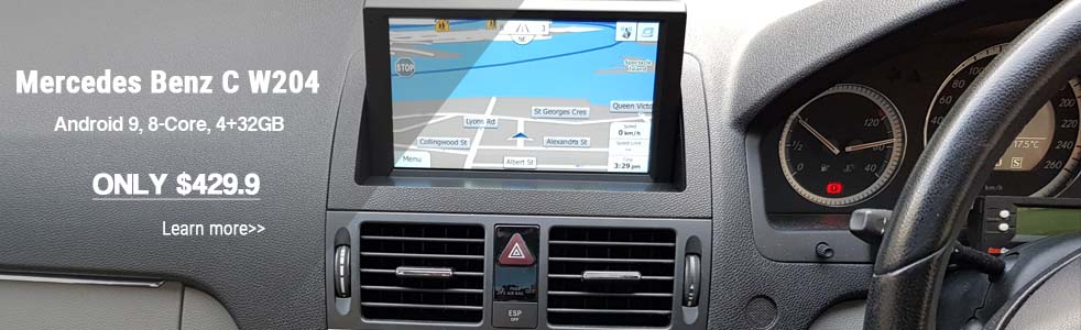 mercedes benz w204 navigation